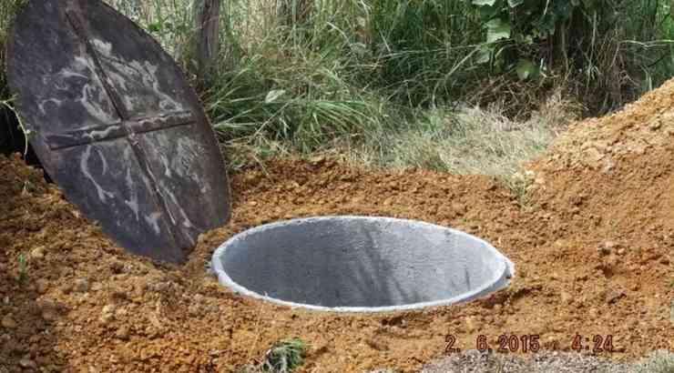 Creusement du puits