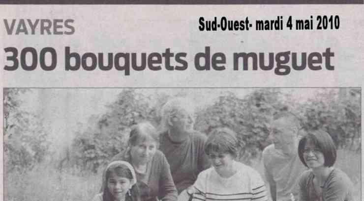 300 Bouquets de muguet